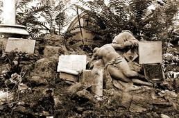 Exemple de tombe en déshérence